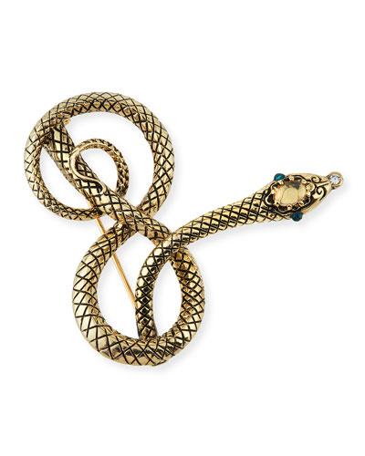 Moorea Snake Pin