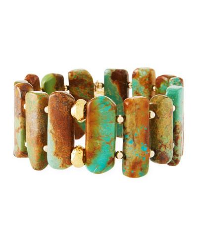 Turquoise Stretch Bracelet