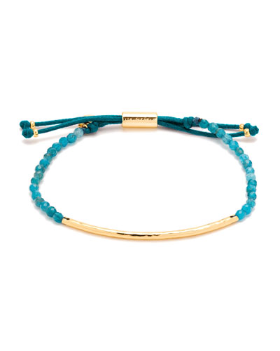 Power Gemstone Apatite Beaded Bracelet