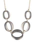 Large Lucite® Link Necklace