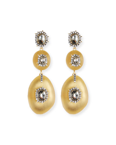 Triple Lucite® Drop Earrings