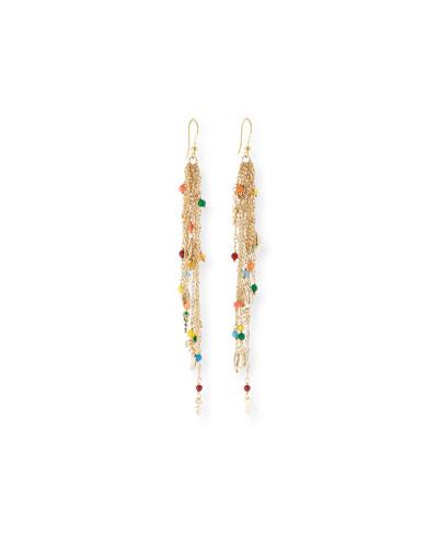 Arsella Rainbow Fish Dangle Earrings