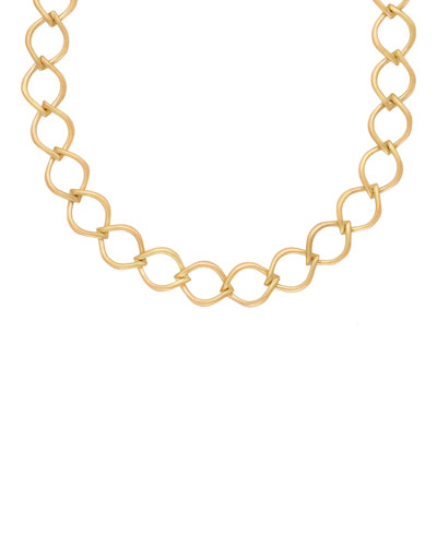 18k Aladdin Chain-Link Necklace