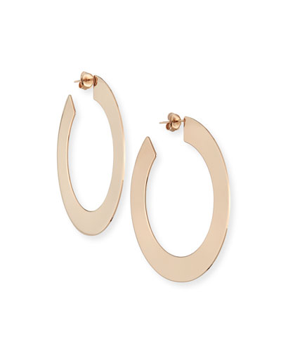 Golda Large Hoop Earrings