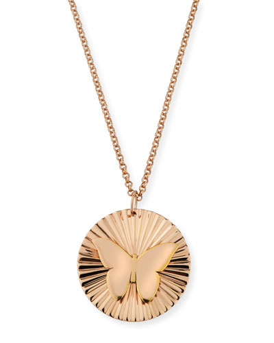 Iris Mariah Butterfly Pendant Necklace