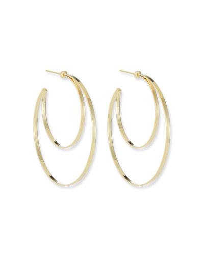 Zuma Double Hoop Earrings