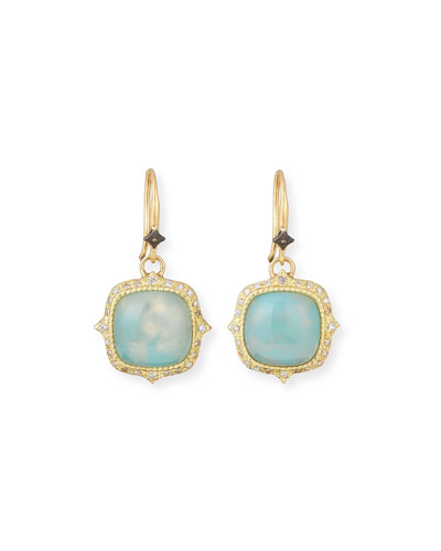 Old World 18k Aquaprase™ Drop Earrings