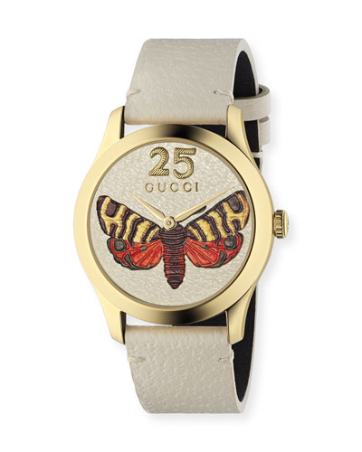 38mm G-Timeless Butterfly Watch