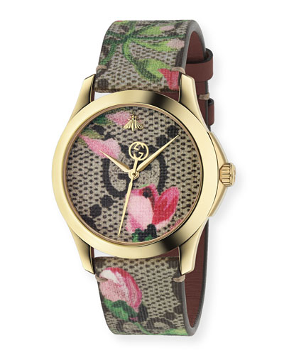 2cada389c46 Quick Look. Gucci · 38mm G-Timeless Watch w  GG ...
