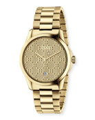 G-Timeless Bracelet Watch, Yellow Golden