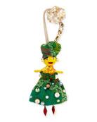 Christian Louboutin Manilacaba Doll Charm for Handbag