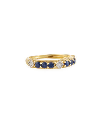 5bf994689 Quick Look. Jude Frances · Lisse 18k Gold, Diamond & Sapphire Ring ...