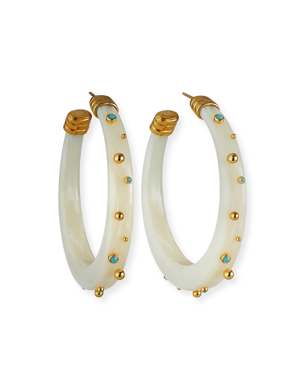 Celeste Hoop Earrings