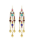 Multicolor Dangle Drop Earrings