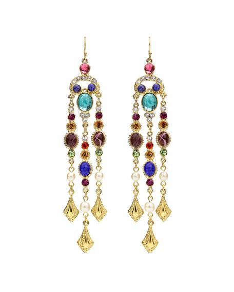 Ben-Amun Multicolor Dangle Drop Earrings