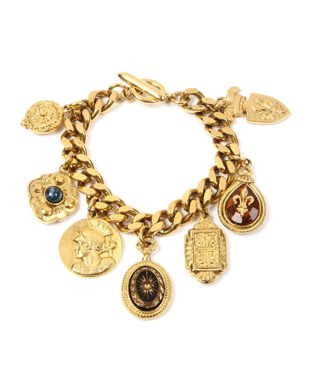Royal Queen Charm Bracelet