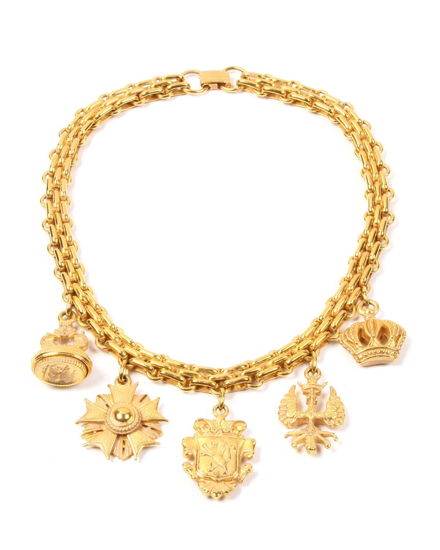 Multi-Charm Necklace