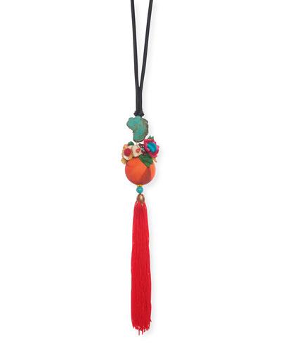 Lou Long Tassel Necklace