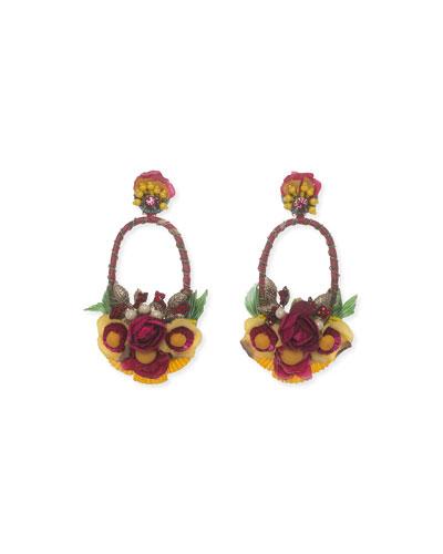 Luscina-L Drop Earrings