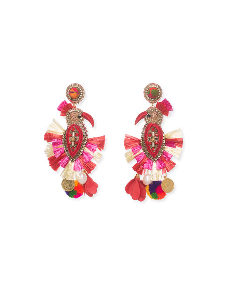 Ranjana Khan Phoenix Drop Earrings
