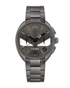 40mm Momento Bugs Bracelet Watch, Gray