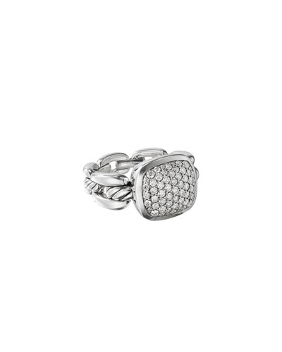 Wellesley Link Diamond Pave Ring