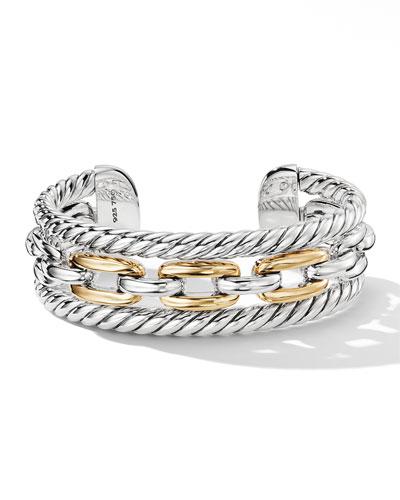 Wellesley Link Multi-Stack Bracelet w/ 18k Gold