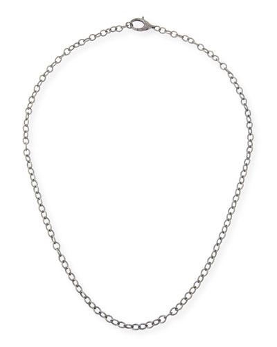 Margo Morrison Diamond Lock Chain Necklace HOuoMYaD
