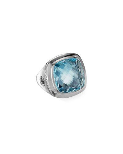 Albion Blue Topaz Statement Ring