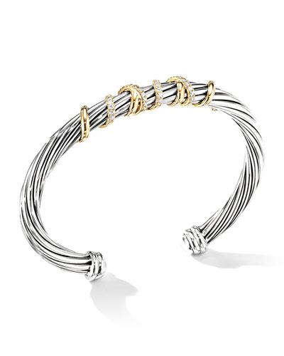 Helena Diamond Wrapped Bracelet