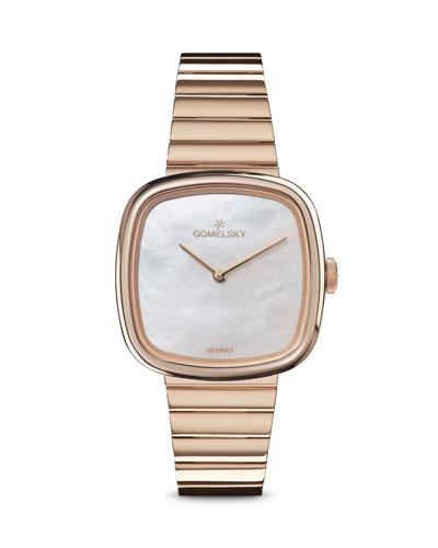 32mm Eppie Mother-of-Pearl Bracelet Watch