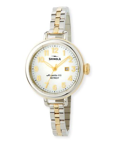 34mm The Birdy Two-Tone Bracelet Watch