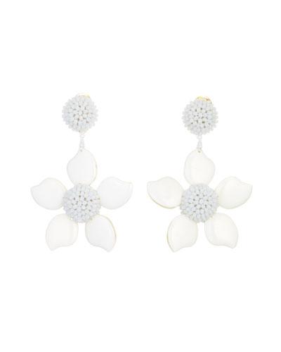 Flower earrings neiman marcus quick look mightylinksfo