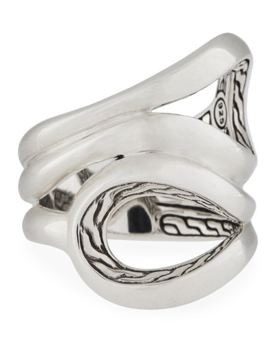 Classic Chain Sterling Silver Ring