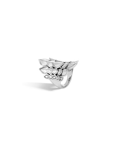 Legends Naga Silver Saddle Ring