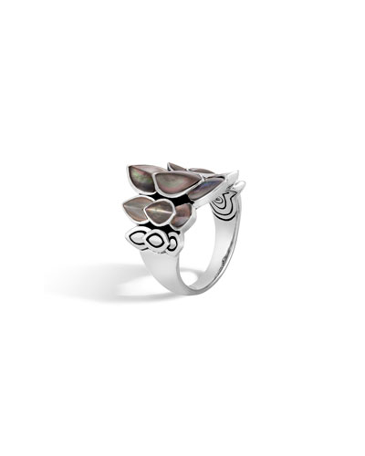 Legends Naga 21mm Saddle Ring w/ Mother-of-Pearl