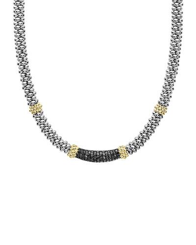 Caviar Diamond Lux 5mm Necklace
