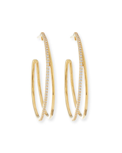 pack Of 3 Crystal Hair Braid Ring Gold Hoop With Clear Stone Sturdy Construction Jewelry & Watches