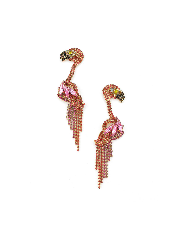 Georgy Flamingo Earrings