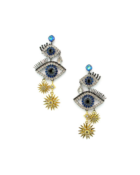 Elizabeth Cole Mara Dangle Earrings