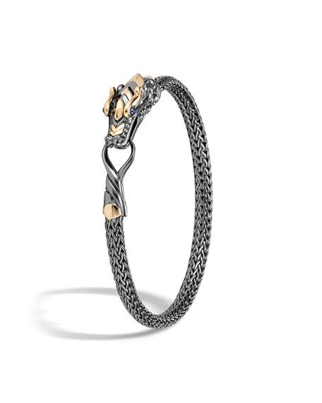 John Hardy Legends Naga Bracelet w/ 18k Gold