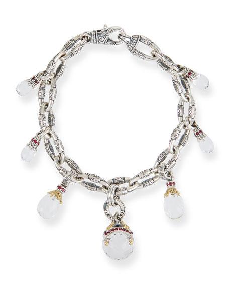 Lagos Black Mother Of Pearl Bracelet