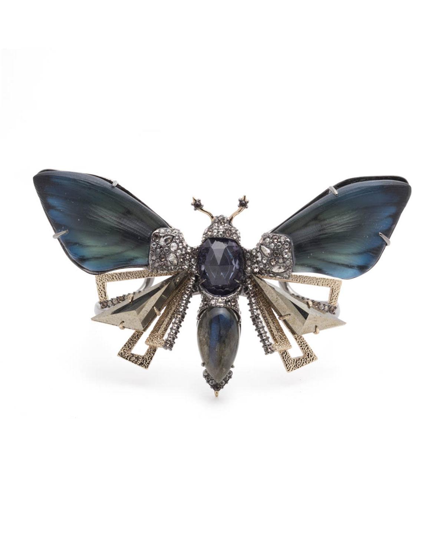 Brutalist Butterfly Cuff Bracelet