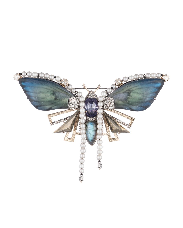 Brutalist Butterfly Pin