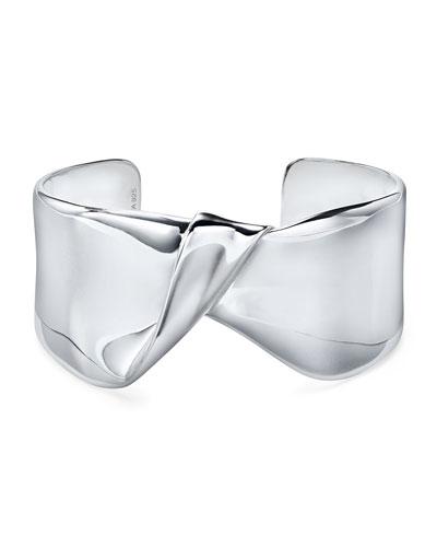 Classico Wide Folded Cuff Bracelet