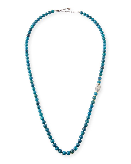 Armenta Old World Apatite & Boulder Opal Bead Necklace
