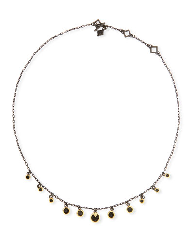 Old World Multi-Disc Shaker Necklace