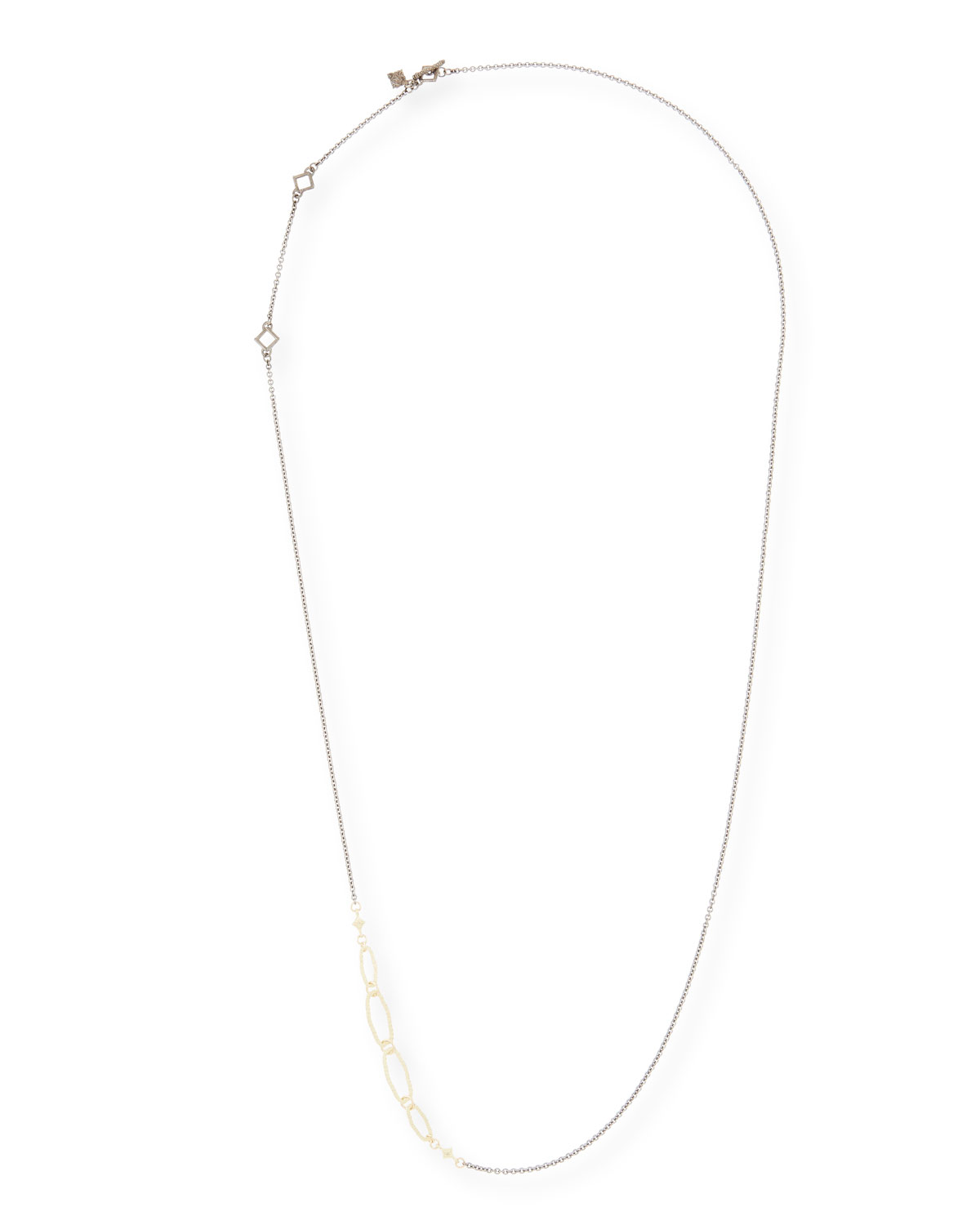 Old World Long Chain Necklace