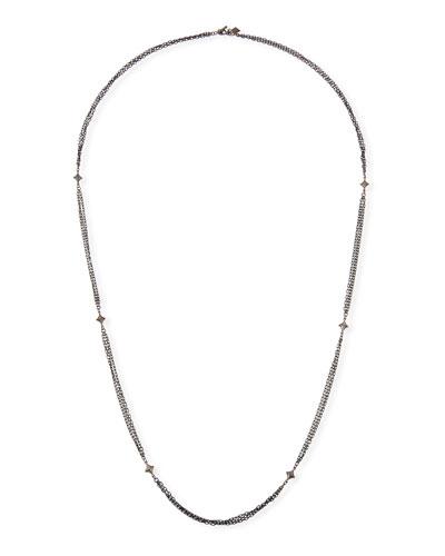 New World Triple-Strand Necklace, 36
