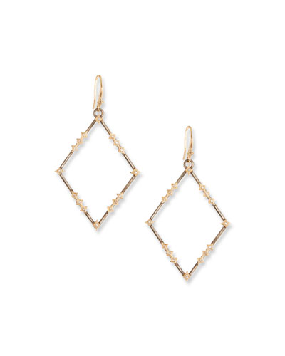 New World Diamond Crivelli Drop Earrings